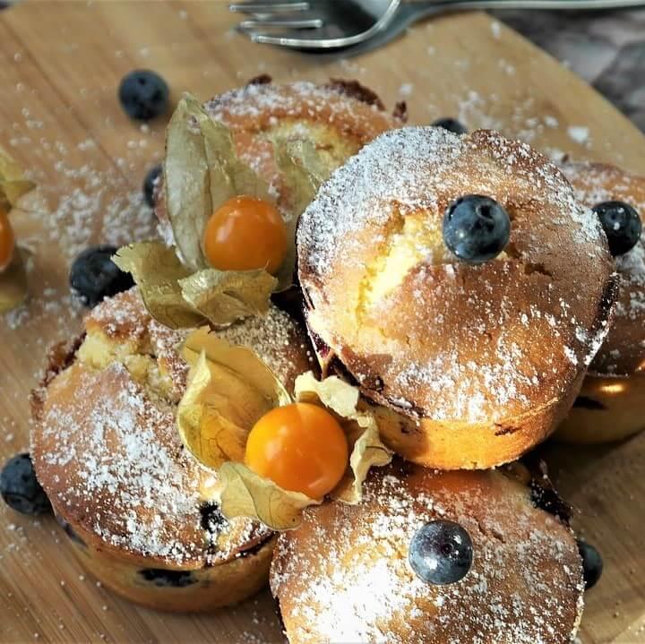 Muffin frutta e cacao