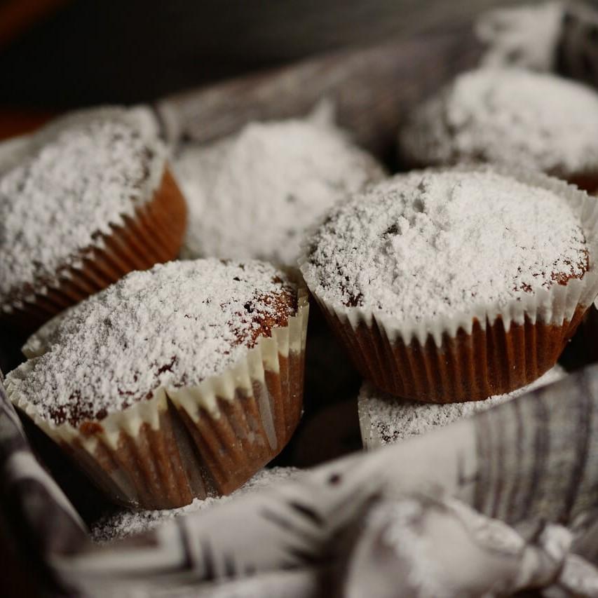 Muffin con zucchero