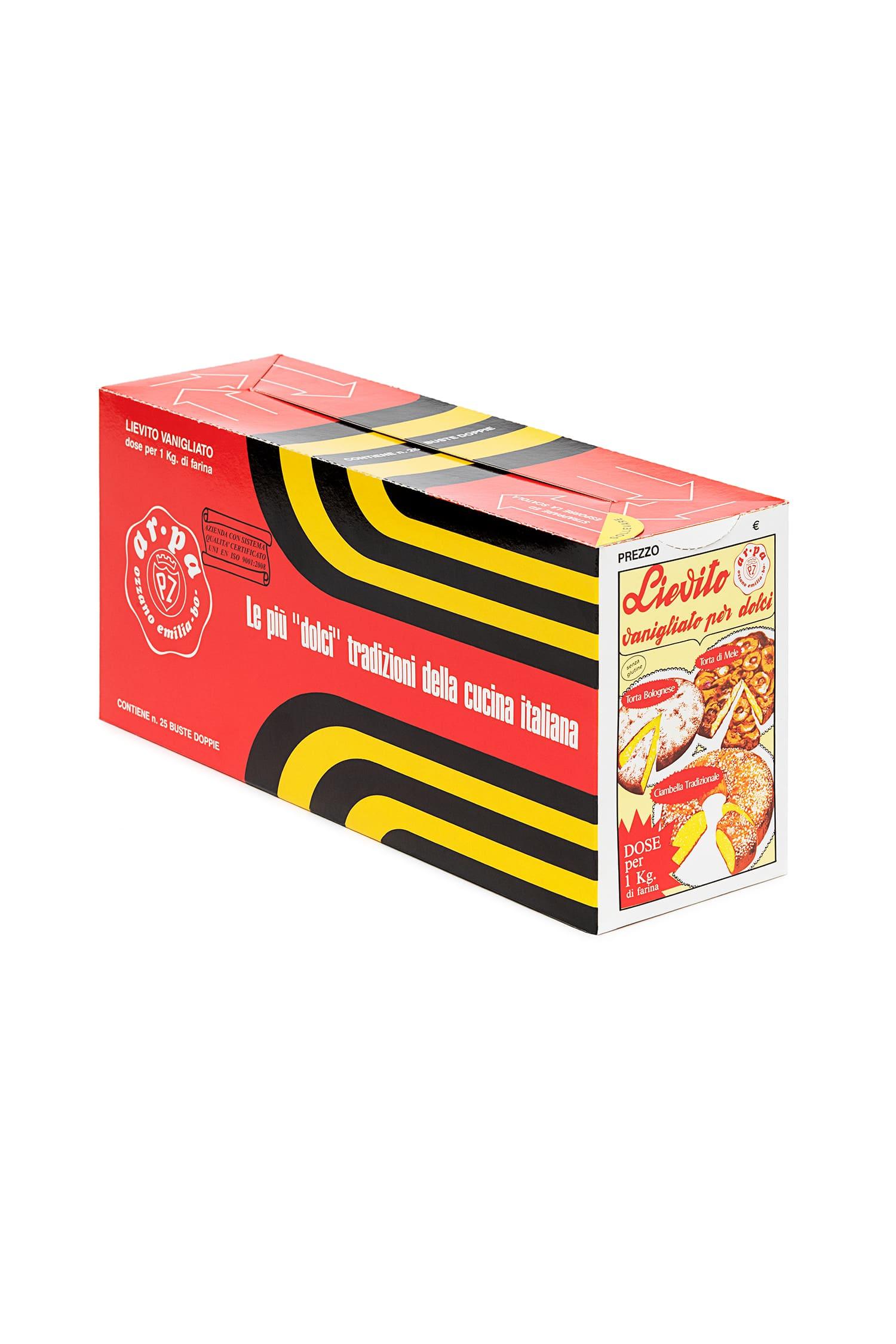 Packaging del prodotto Lievito Vanigliato per dolci