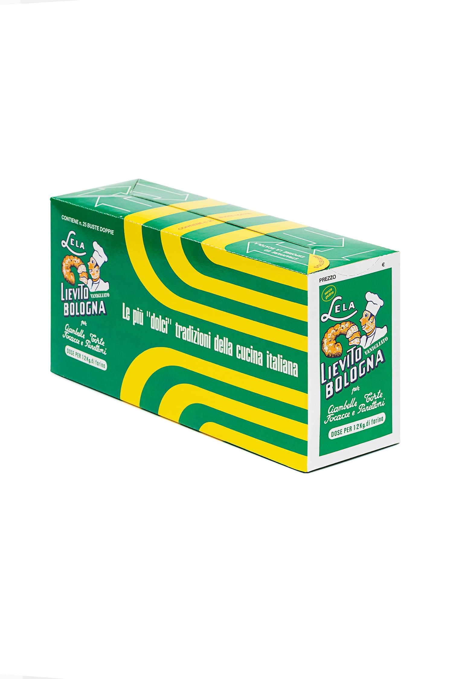 Packaging del prodotto Lievito vanigliato Lela