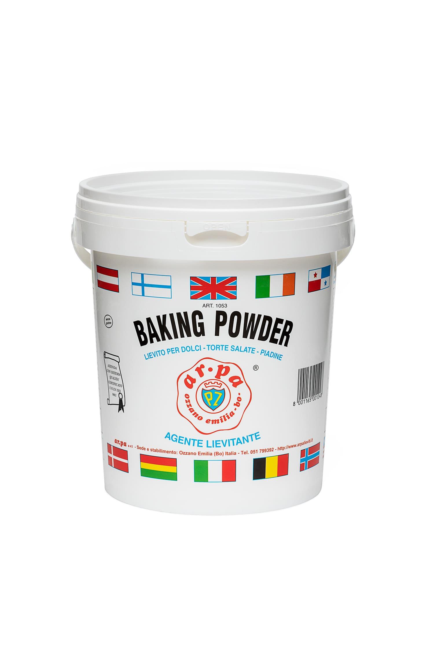 packaging del prodotto Lievito per dolci e salati