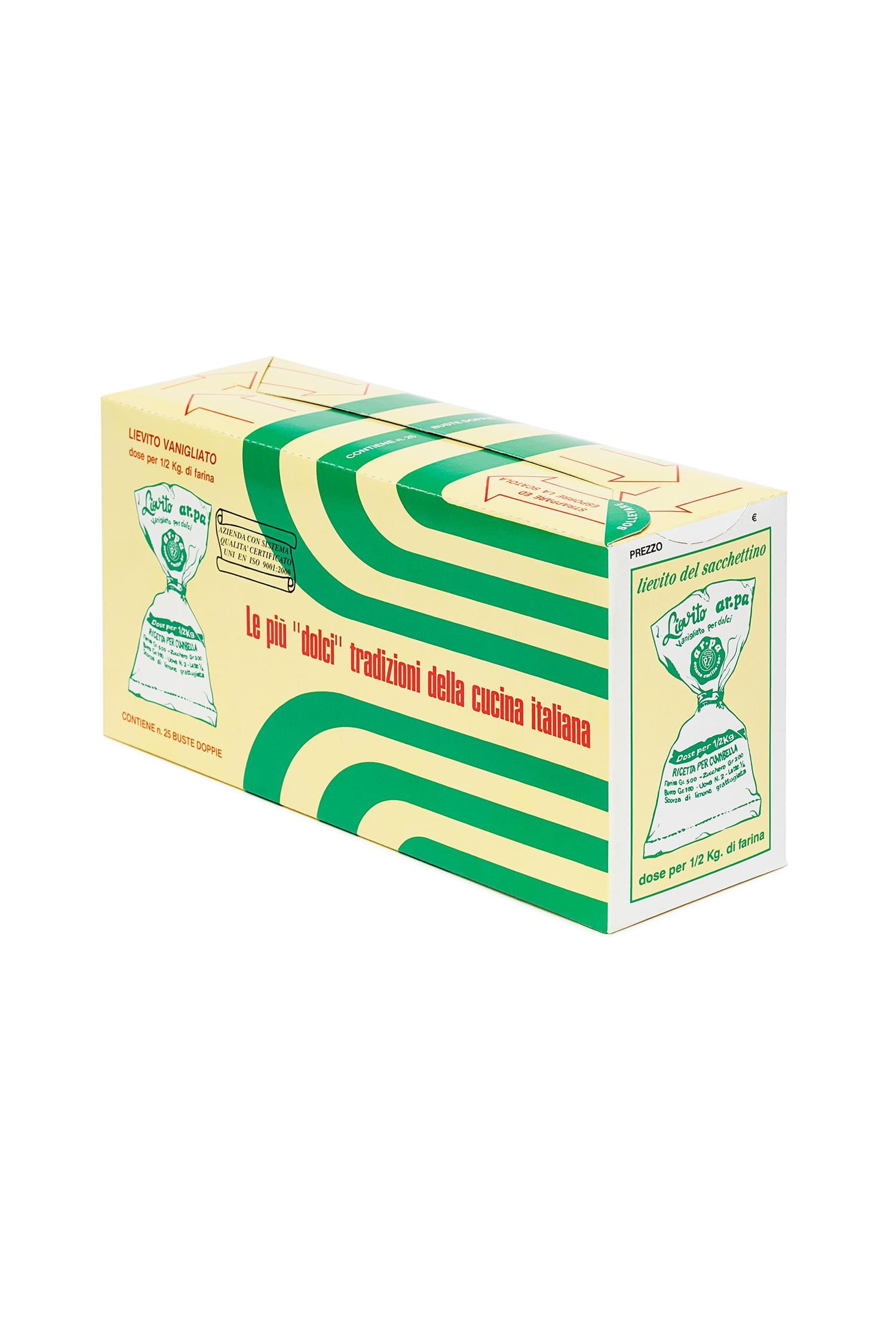 Packaging del prodotto Lievito vanigiato del sacchettino