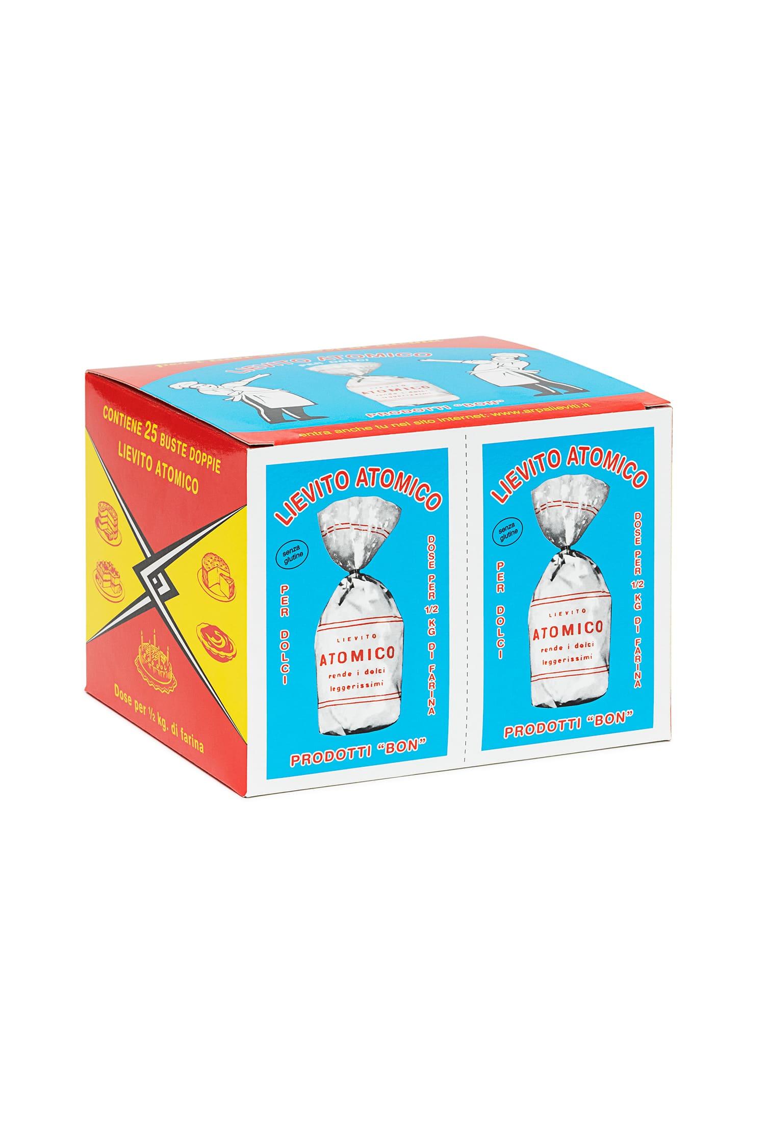 Packaging del prodotto Lievito Atomico per dolci