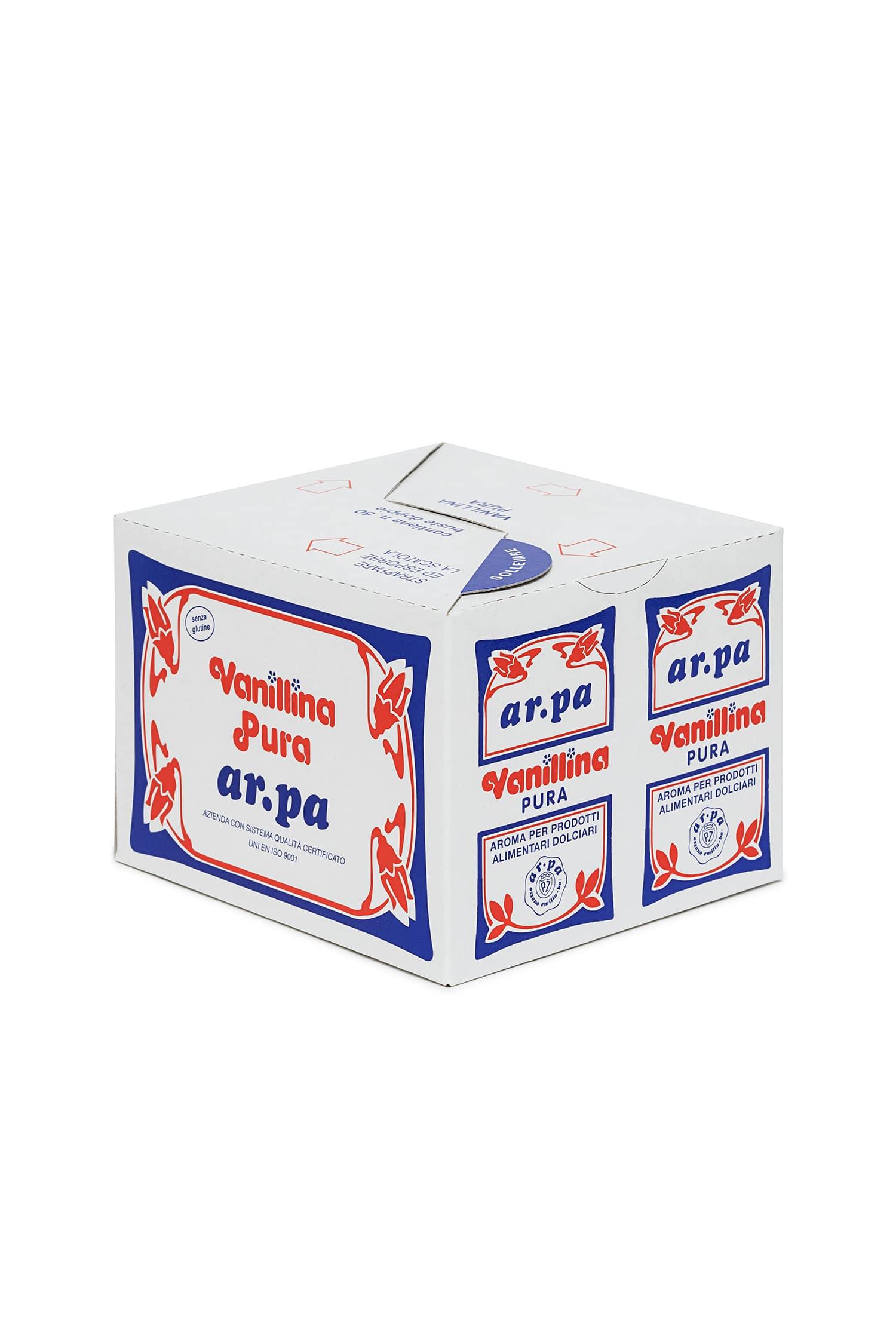 Packaging del prodotto Vanillina Pura buste doppie