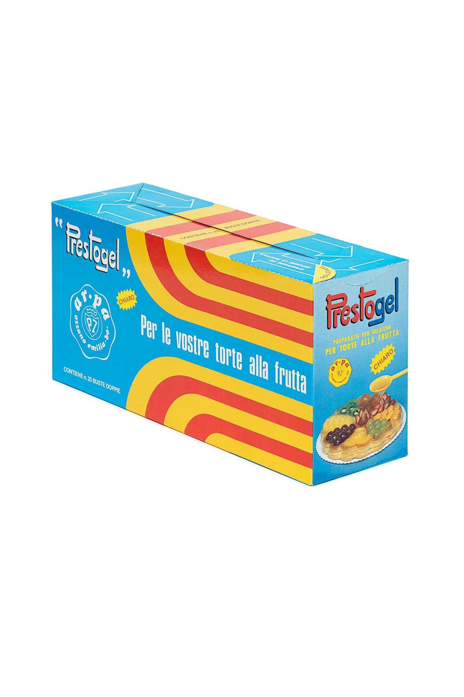 Packaging del prodotto Prestogel chiaro