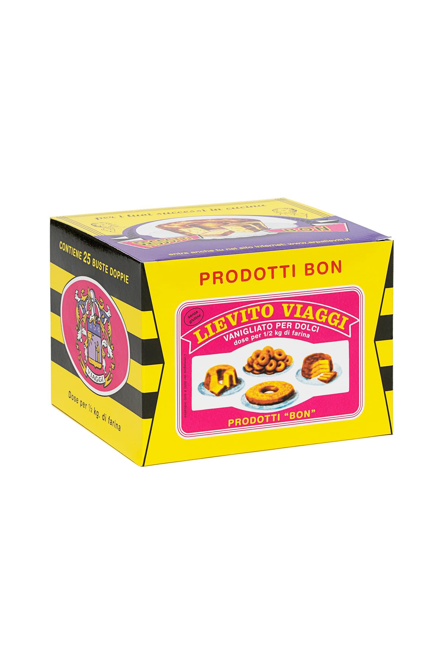 Packaging del prodotto Lievito vanigliato Viaggi