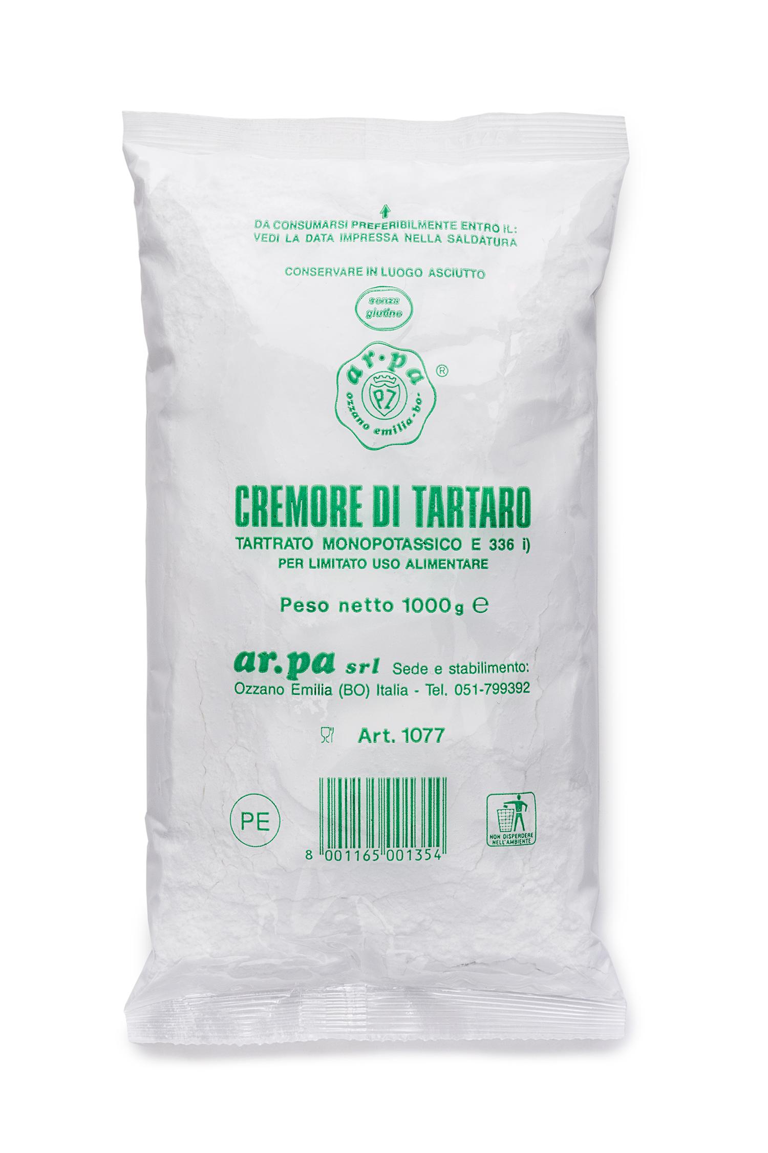 Packaging del prodotto Cremore di tartaro