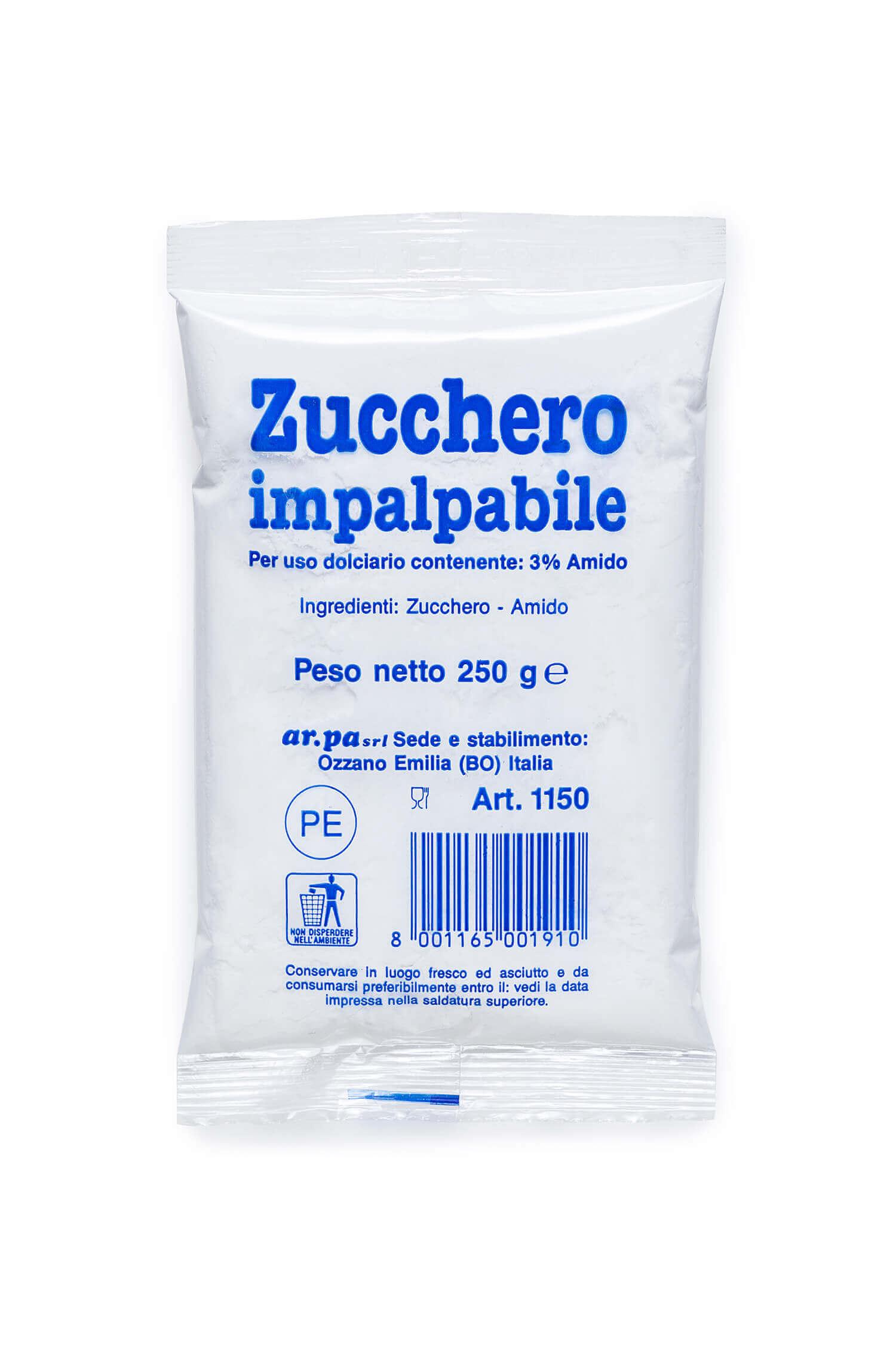 Packaging del prodotto Zucchero impalpabile