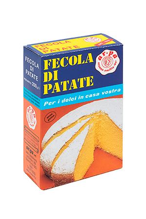Packaging del prodotto Fecola di patate 250 g