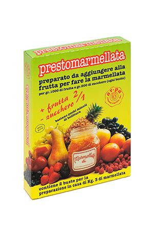 Packaging del prodotto Prestomarmellata