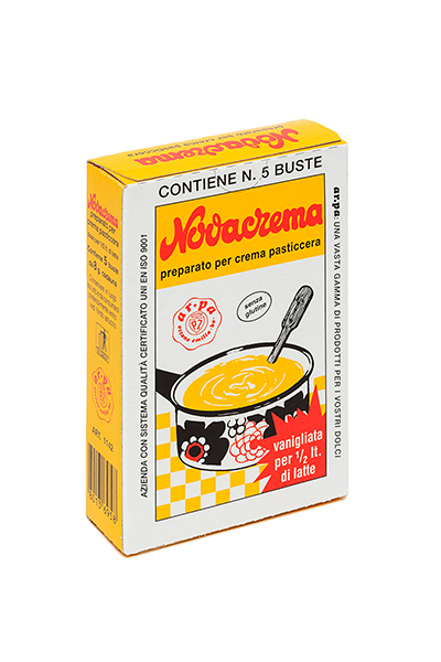 Packaging del prodotto Novacrema vanigliata 5 astucci