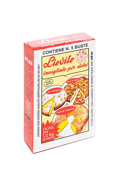 Packaging del prodotto Lievito Vanigliato astuccio 5 buste
