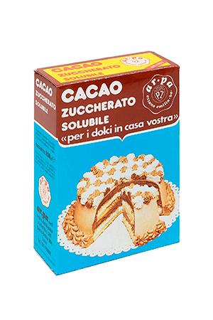Packaging del prodotto Cacao zuccherato astuccio 250 g